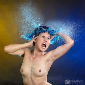 Wasserperücke - Water wigs von Daniel Nimmervoll